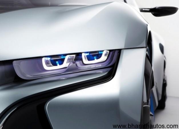BMW i8 Concept laser headlights