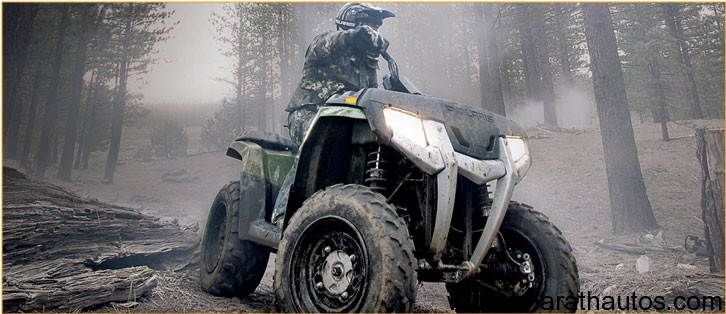Polaris ATVs in India