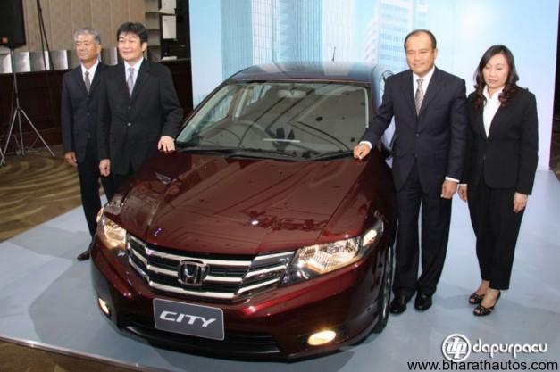 2012 Honda City facelift - FrontView