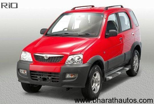 Premier Rio compact SUV - FrontView