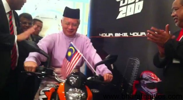 KTM Duke 200 Unveiled in Malaysia