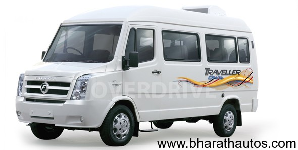Force Traveller to get a minor facelift