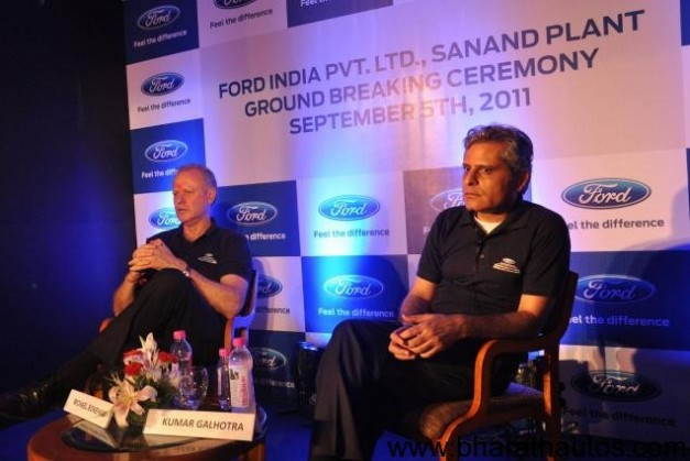 Ford breaks ground for second facility in Gujarat