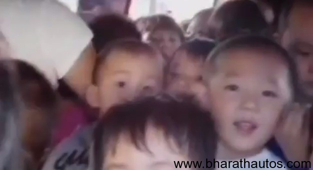 China minivan carrying 66 school children stopped by police