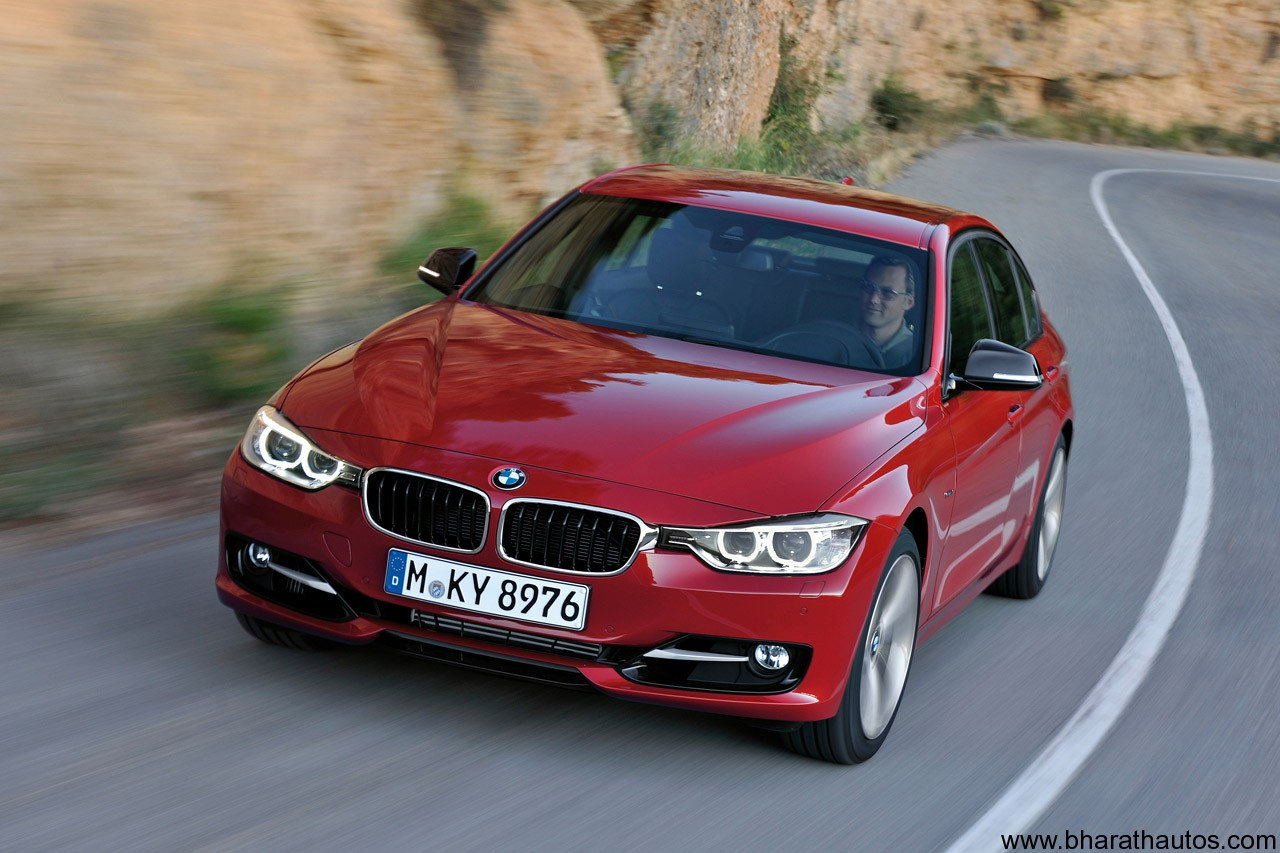 2012 bmw 3 series f30 sedan unveiled. Black Bedroom Furniture Sets. Home Design Ideas