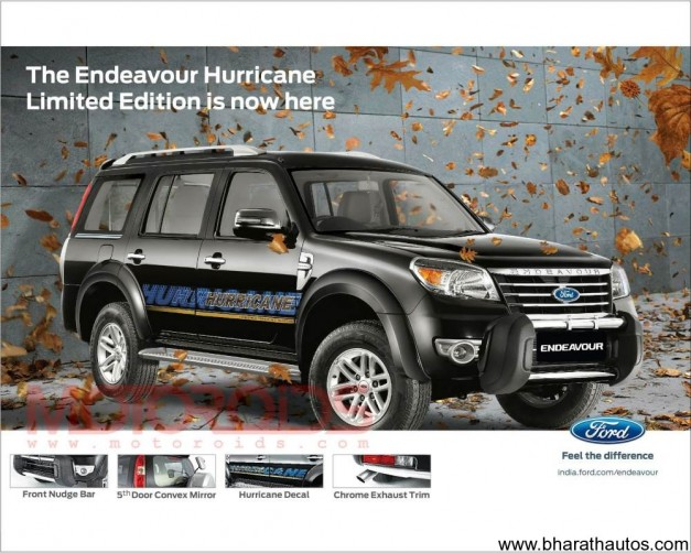 Endeavour 4×4 Hurricane limited edition