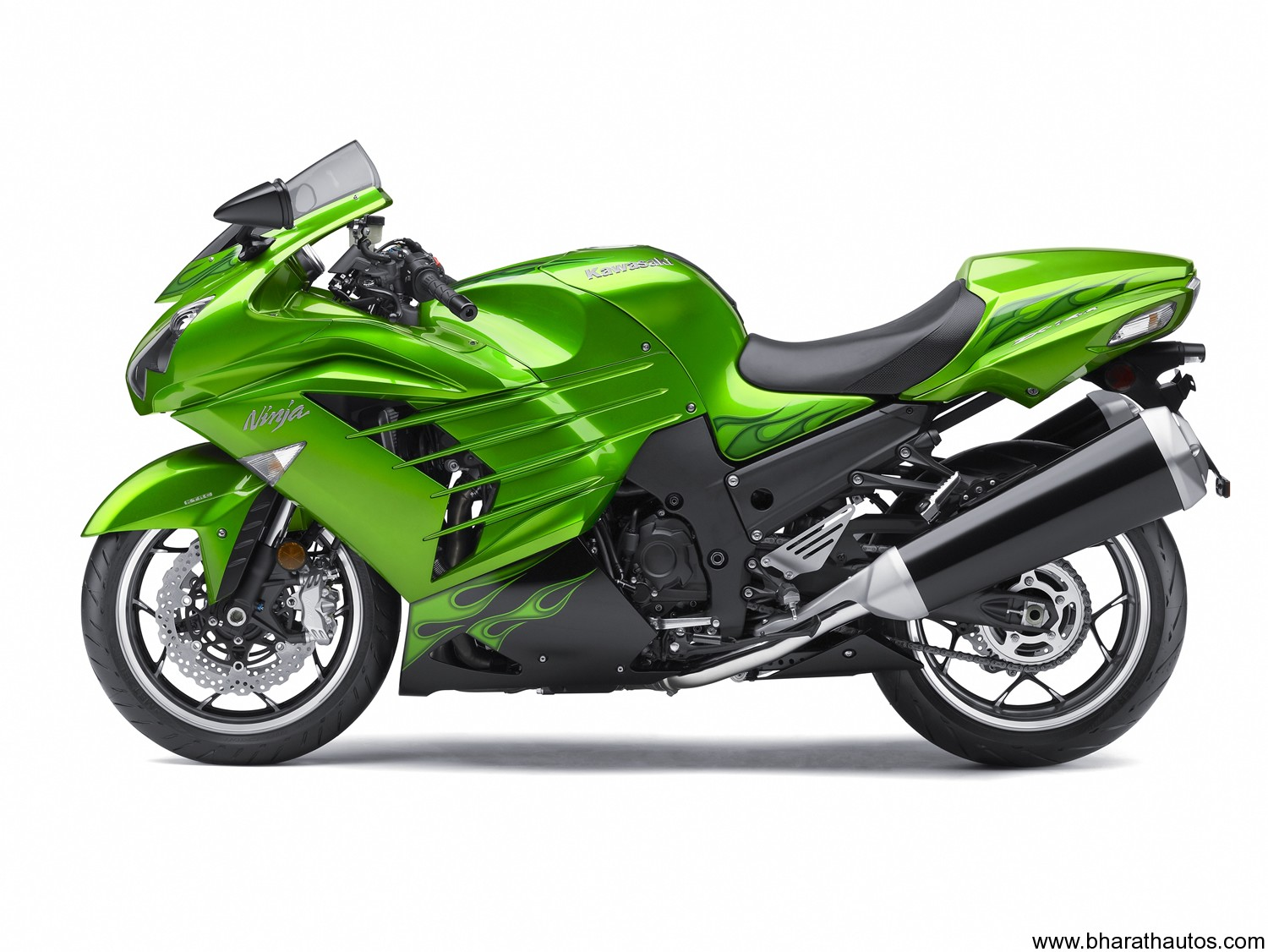 2012 Kawasaki Zzr1400 Is The World S Fastest Motorcycle