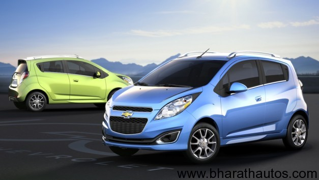 2013 Chevrolet Beat facelift