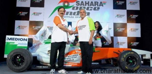 Sahara buys 42.5% stake in Mallya's Force India F1 team