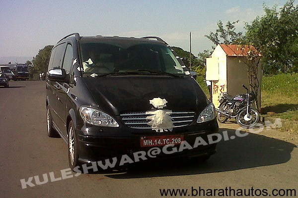 Force Motors' Mercedes Viano - FrontView