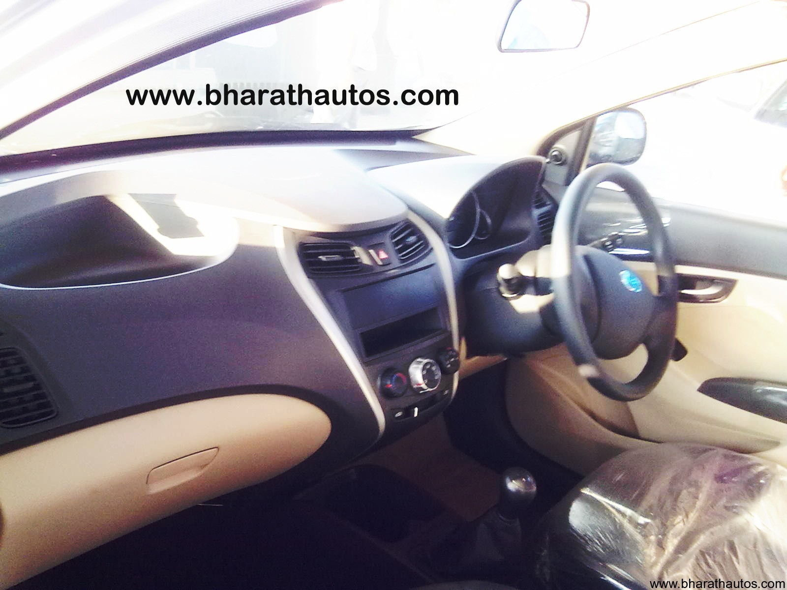Spied Hyundai Eon Dropped Camouflage In Mangalore With