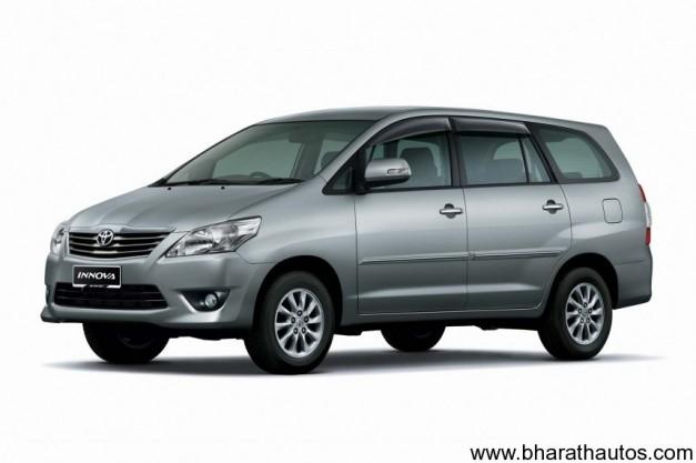 Toyota Innova facelift - FrontView