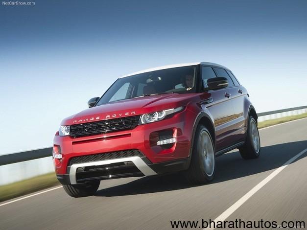 Land Rover Range Rover Evoque India