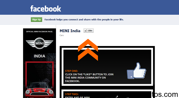 BMW Mini Facebook Page