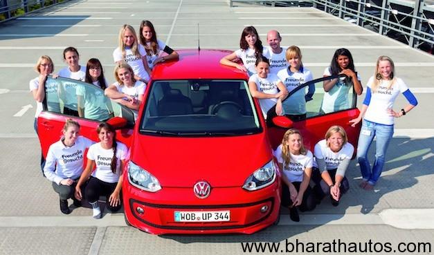 Volkswagen Up! Swallows 16 People