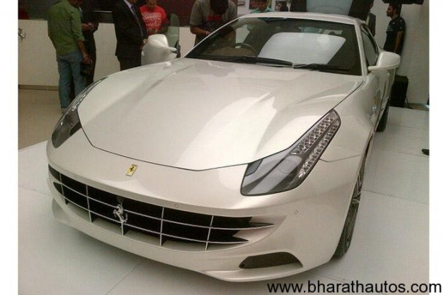 Ferrari FF launched in India at Rs. 3.42 crore