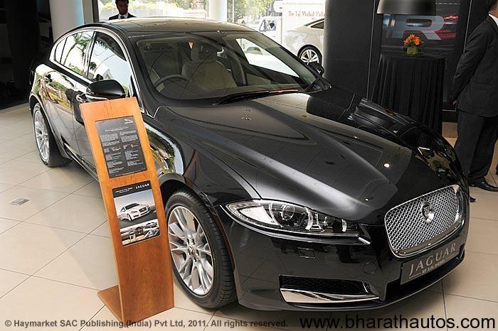 Facelifted Jaguar Xf Reaches Mumbai Dealer Launch Likely