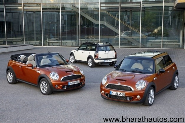 BMW-Mini will launch three models at 2012 Auto Expo