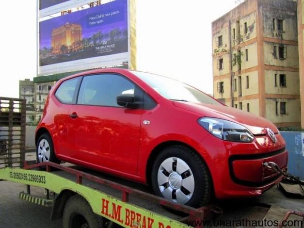 Volkswagen Up! - FrontView