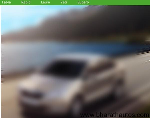 Skoda Rapid teaser-site
