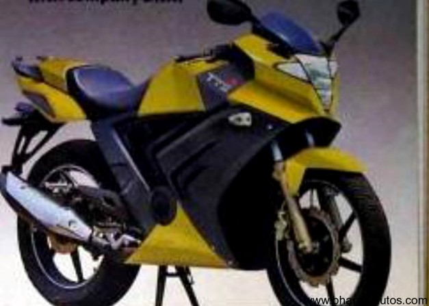 Rendered images - TVS Apache RTR250