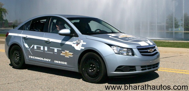 Chevrolet Cruze plug-in hybrid version