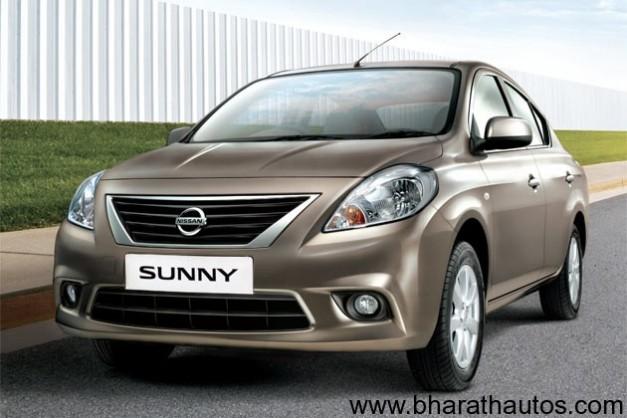 Nissan Sunny sedan - FrontView