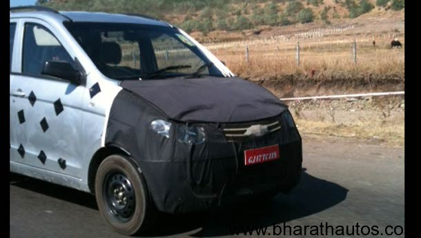 New GM Sunshine spied - FrontView