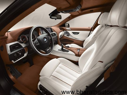 2013 BMW 6 Series Gran Coupe- FrontInteriorView