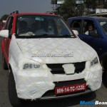 Premier Rio facelifted spied - FrontView