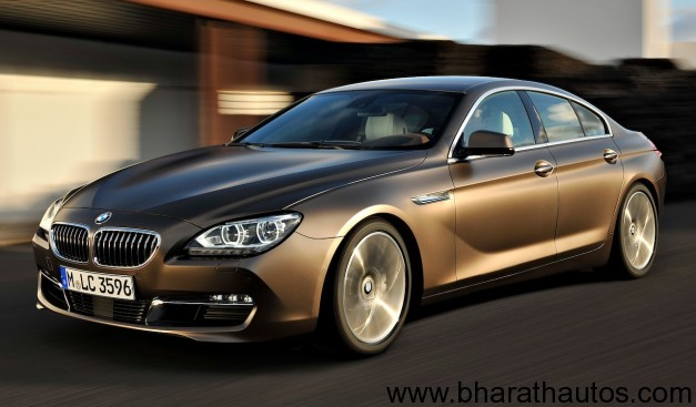 2013 BMW 6 Series Gran Coupe- FrontView
