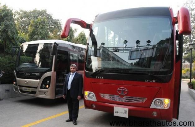 Tata Motors launches luxury coach 'Divo' & citybus 'Starbus ultra'