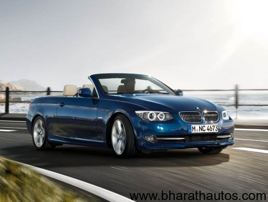 BMW 3-Series convertible - FrontView