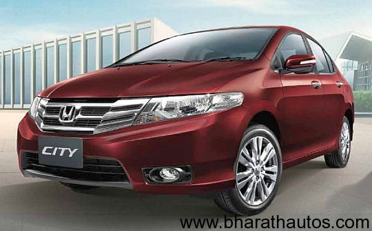 2012 Honda City facelifted