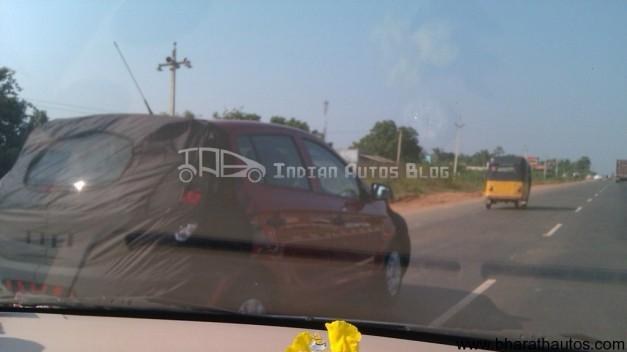 Hyundai i20 facelift spied Chennai