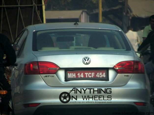 Volkswagen Jetta TSI - Rear