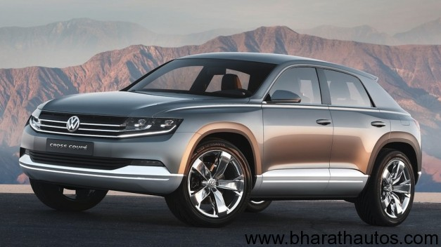 Volkswagen Cross Coupe Concept - FrontView