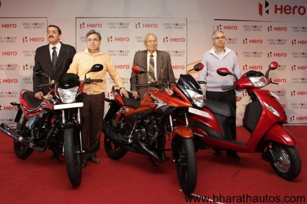 Hero Motocorp launches Passion XPro 110, Ignitor 125 & Maestro 110 scooter