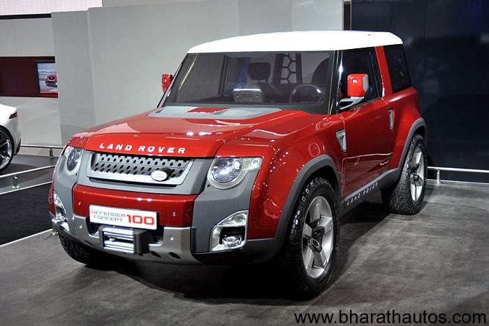 2012 Auto Expo Jlr Showcases The C X16 C X75 Dc 100