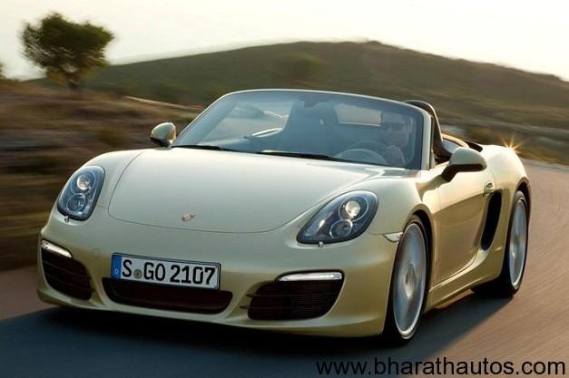 2013 Porsche Boxster - FrontView