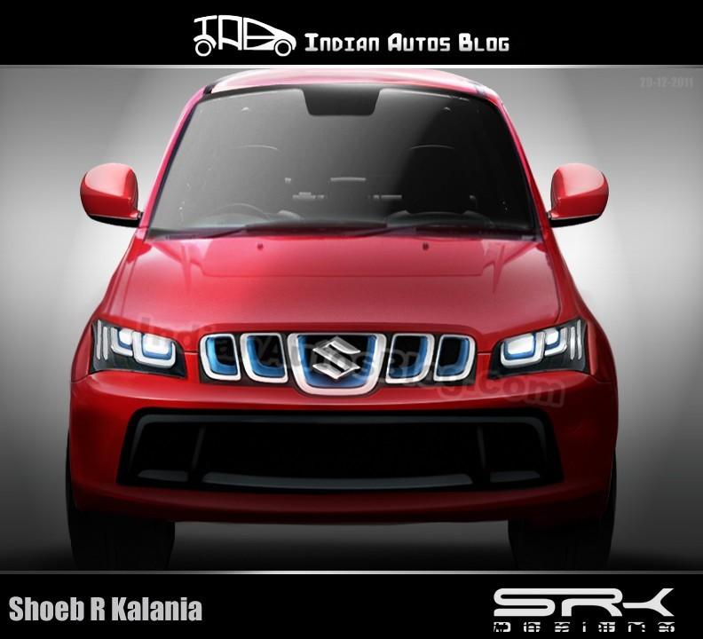 Rendered – Maruti Suzuki Jimny/Gypsy Compact SUV