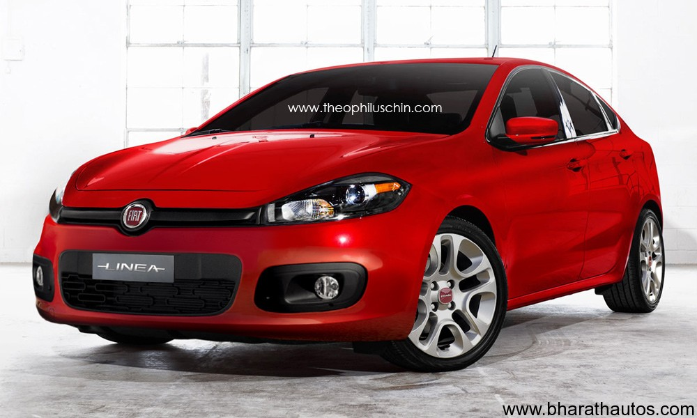 Also See   Rendered     2013 Fiat Linea With Some Details