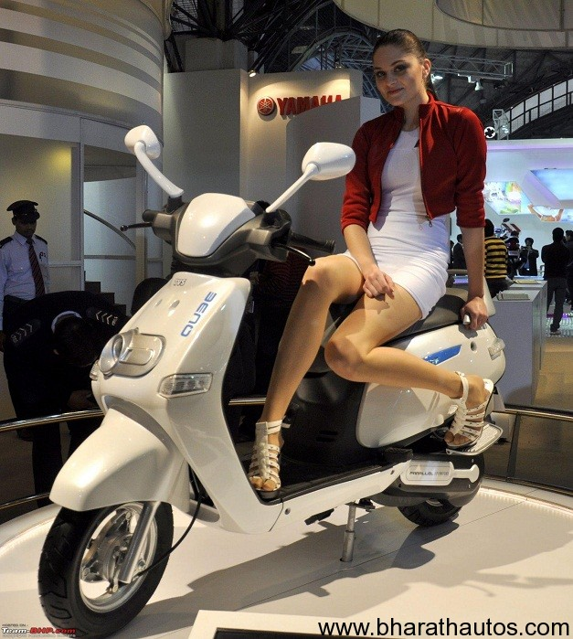2012 Auto Expo Tvs Gearing Up To Launch 4 New Models By