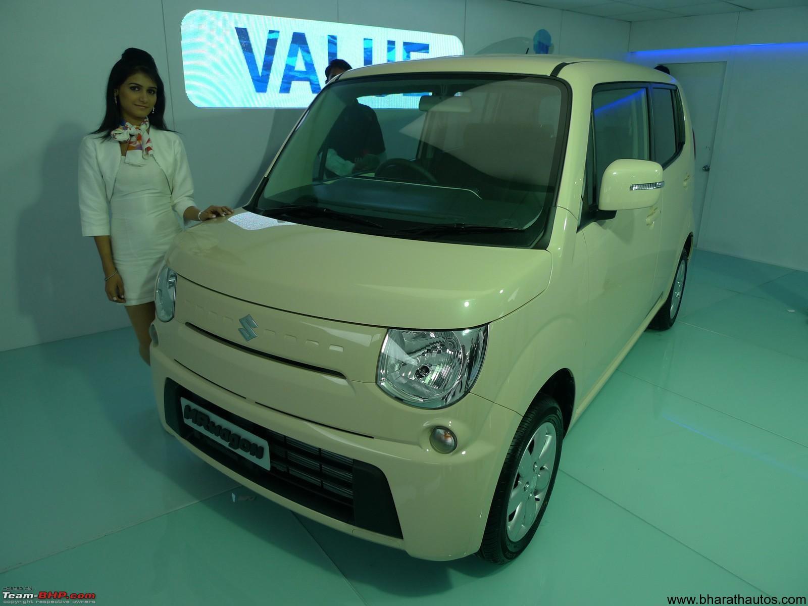 Suzuki Every Wagon Interior >> 2012 Auto Expo - Maruti Suzuki showcases 660cc cars Palette SW, Solio and MR Wagon