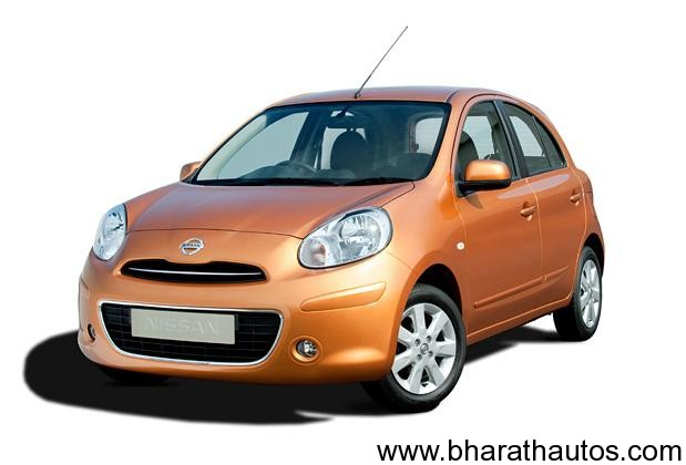 Nissan Micra - FrontView