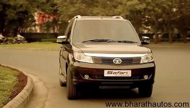 New Tata Safari Strome