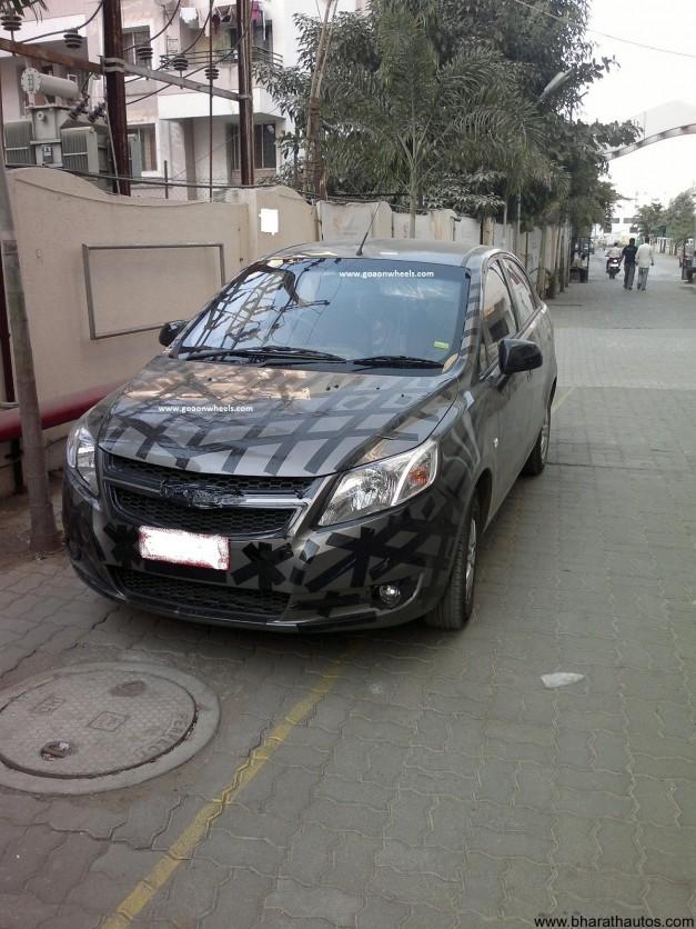 Chevrolet Sail sedan - FrontView