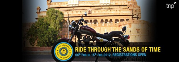 Royal Enfield Tour of Rajasthan 2012 registration opens