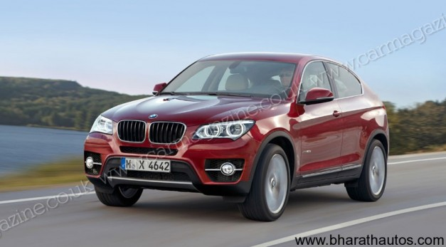 BMW X4 - FrontView