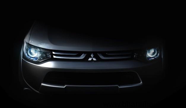 Mitsubishi Teases new vehicle ahead of 2012 Geneva Motor Show Debut